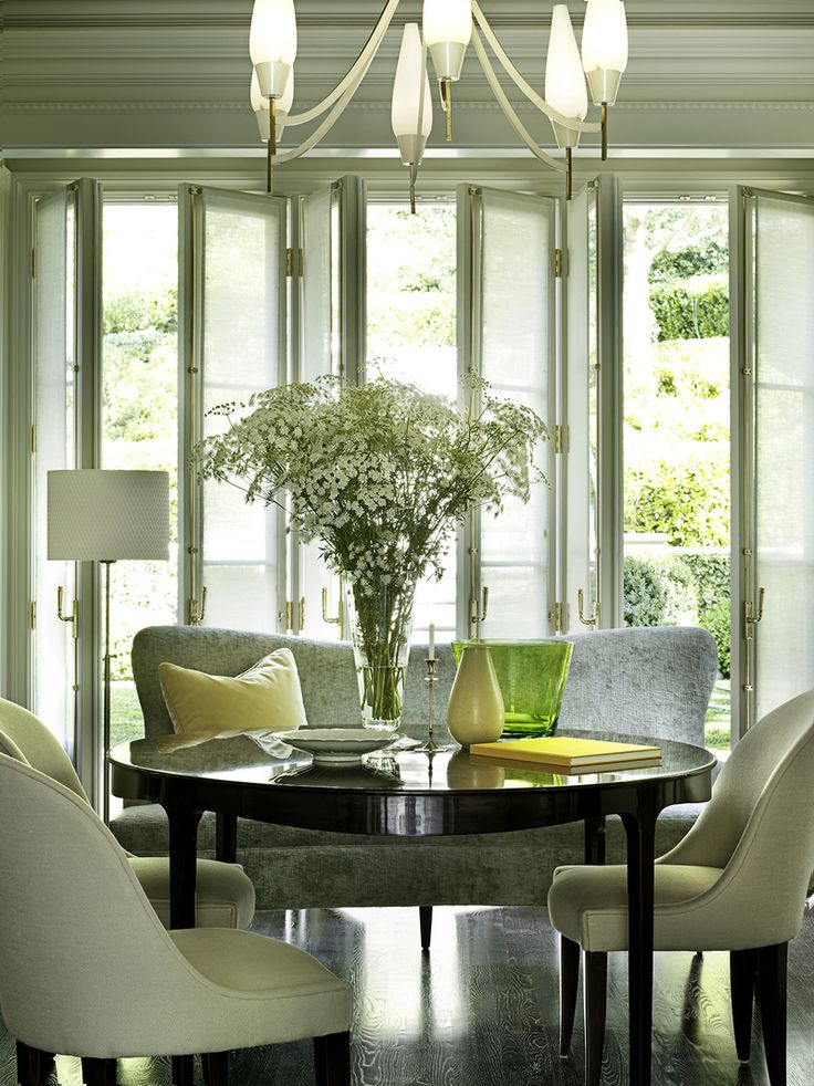 Best Barbara Barry Images On Pinterest Baker Furniture - Barbara barry dining table parsons