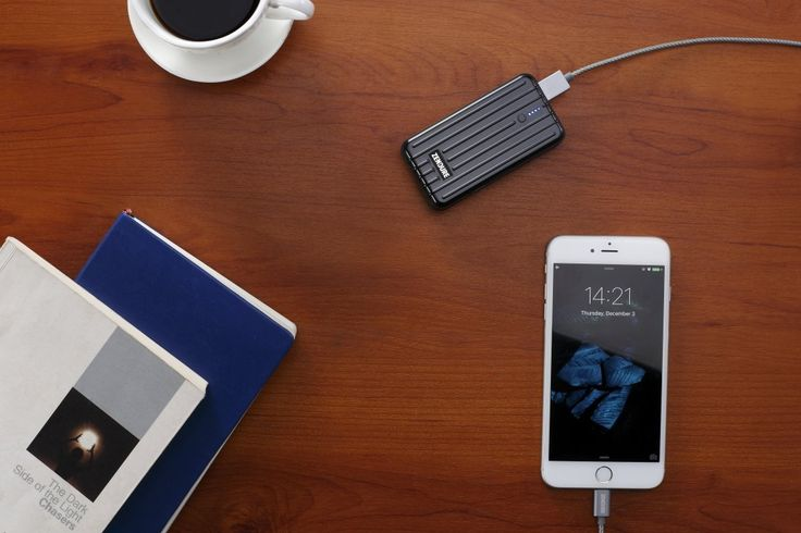 Zendure A2 Power Bank 6700mAh - Ultra-durable Portable External Battery Charger for iPhone, Android and More, PC Advisor Winner 2014-2017, Lightweight and Compact- Black: Amazon.co.uk: Electronics