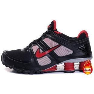 www.asneakers4u.com Mens Nike Shox Turbo 11 Black Red