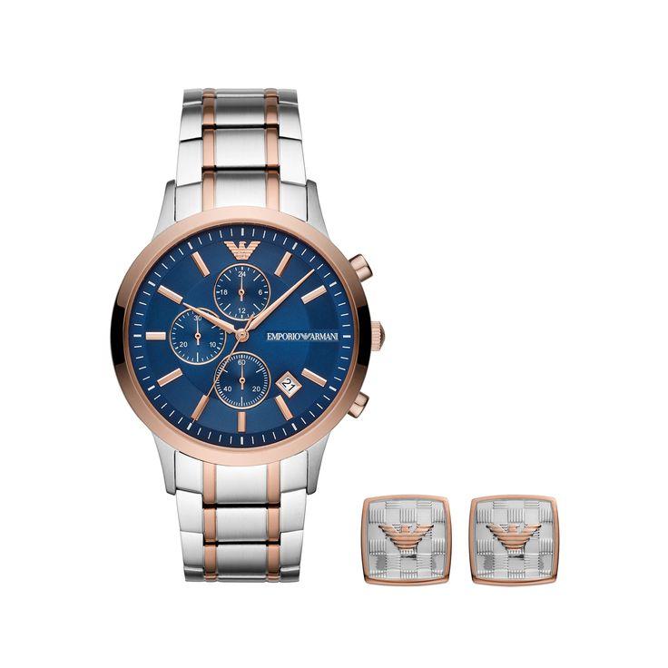Emporio Armani Renato Gift Set Watch AR80025 в 2019 г.   Mens ...