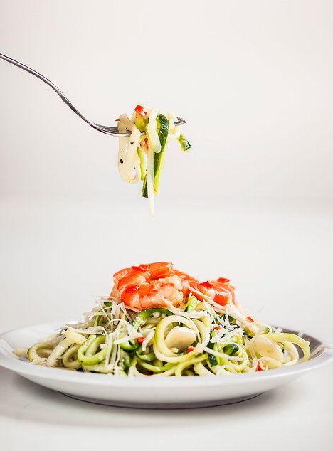 Cuketové špagety jsou díky své jemné chuti nejvariabilnější, takže si je můžete dopřát s v podstatě jakoukoli omáčkou nebo kořením; Eva Malúšová