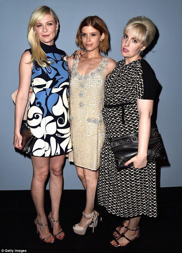 Kirsten Dunst, Kate Mara, Lena Durham - Premiere of 'Miu Miu Women's Tales' @ Venice Film Festival.  (August 2014)