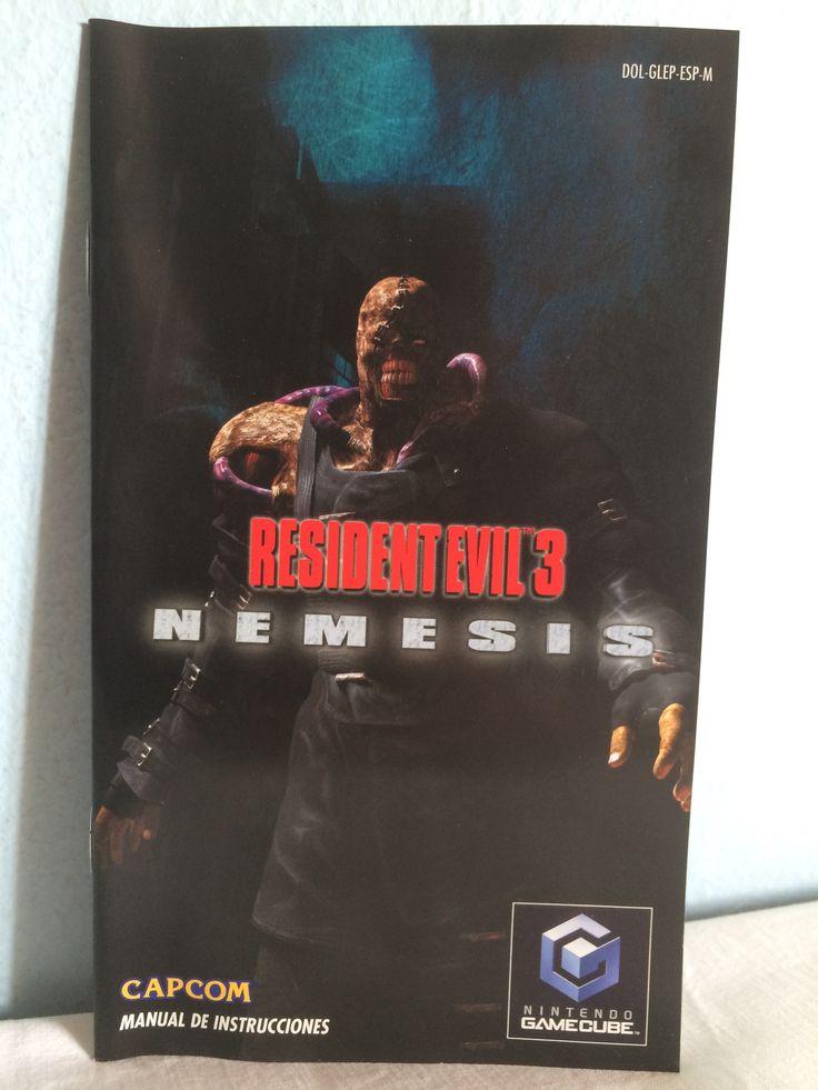Resident Evil 3 Nemesis manual.