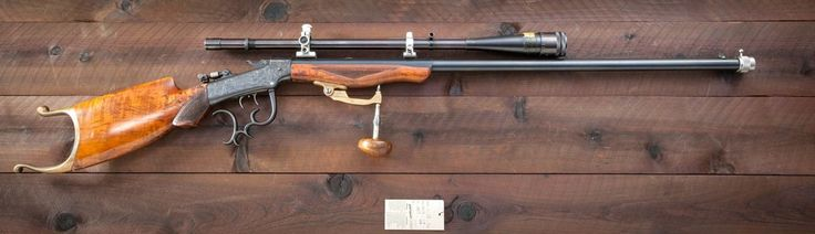 peashooter85:  H.M. Pope barreled Marlin Ballard single shot target rifle, late 19th century. Sold at Auction: $8,500