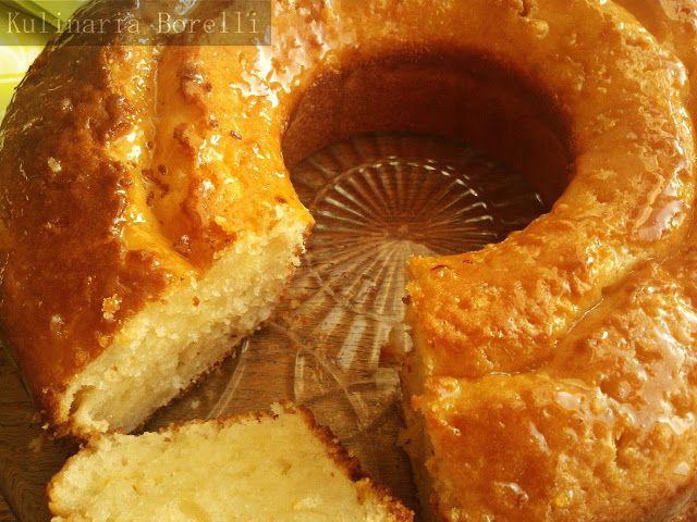 Kulinaria Borelli: Jogurtowa babka cytrynowa