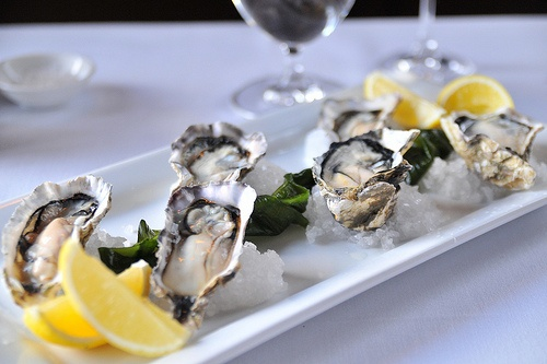 Start the degustation with a plate of Bluff Oysters on the waterfront at Wai. #holidayhomes #AmazingAccom