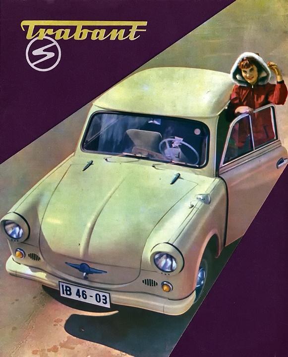 De Trabant. Een kunststof (Duroplast) autootje uit het toenmalige…