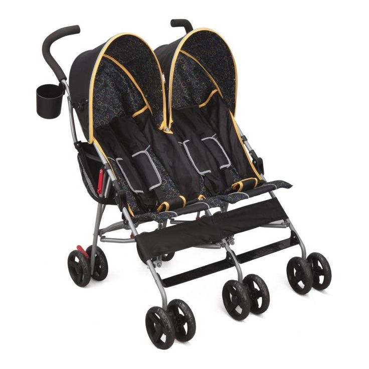 Stroller For Twins Two Kids Double Baby Buggy Light Folding Canopy Storage Bags #twinstroller #doublestroller #twinbuggy #foldingstroller