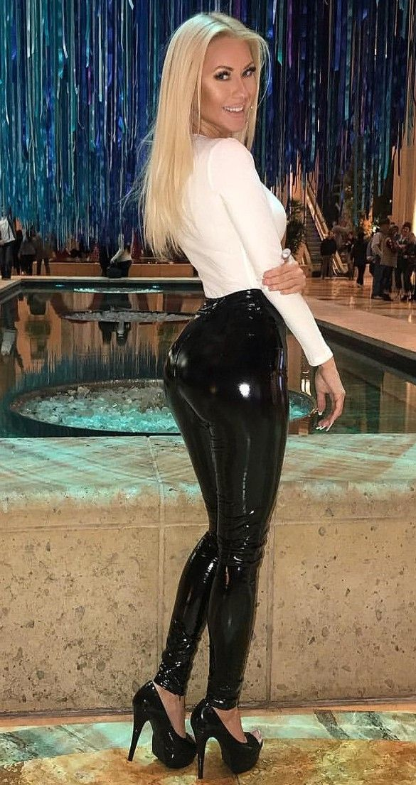 6ffeca36e5098b Pin by Cali De Maestri on Fashion | Latex pants, Hobble skirt, Pvc leggings