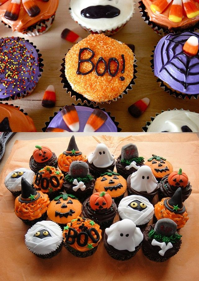 Easy Halloween Cake Decoration Ideas : Best 20+ Halloween Cupcakes ideas on Pinterest Halloween cupcakes decoration, Spooky treats ...