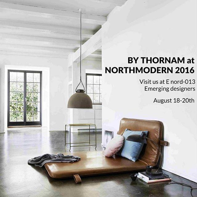 See you at northmodern 2016 in Copenhagen #them #bythornam #northmodern2016 #daybed #headboard #lounge #furniture #interiordesign #slowliving #hygge #chill