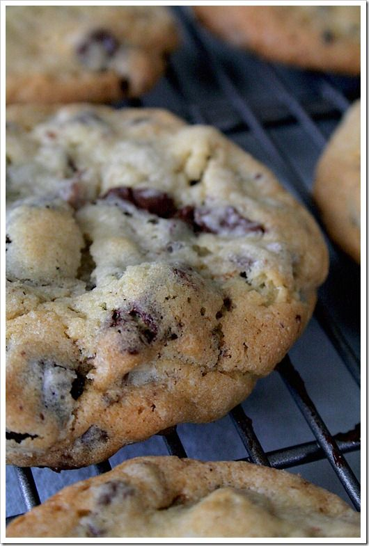 Chocolate Cherry Chunk Cookies - my ABSOLUTE favorite!!!!!