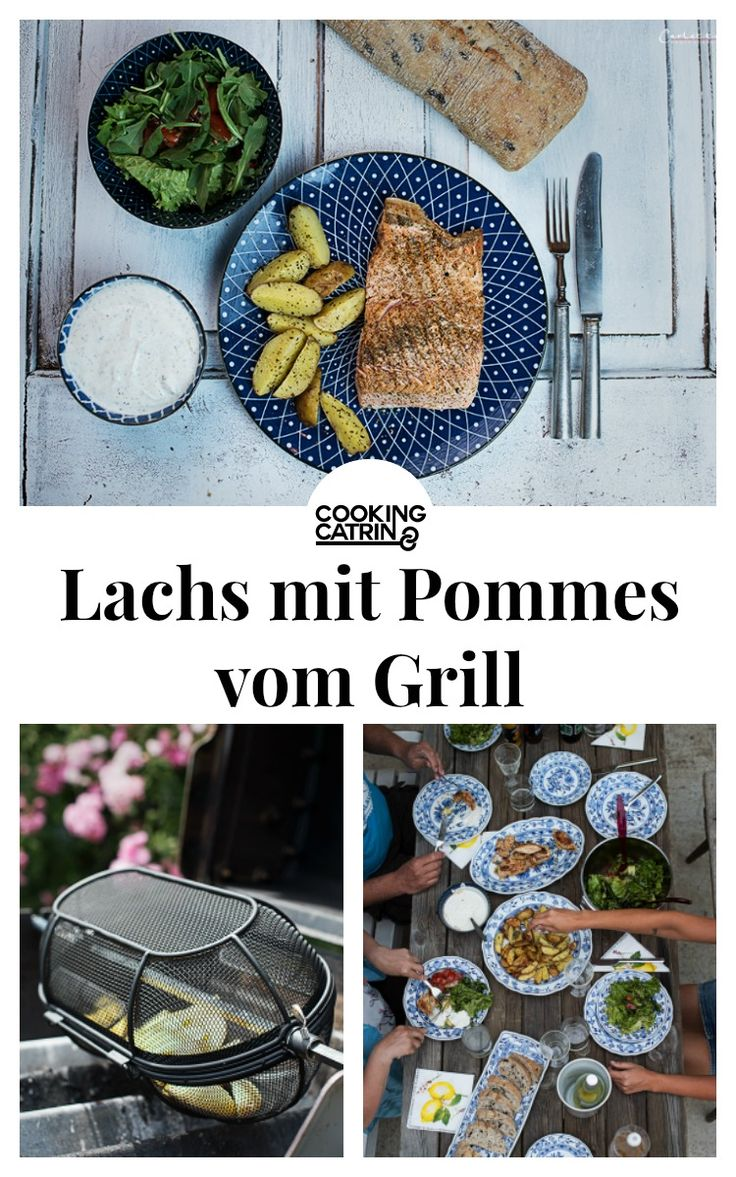 Lachs gegrillt, Pommes vom Grill, Lachs, Pommes, Wedges, selfmade wedges, potatoe wedges, salmon, BBQ, barbecue, grillen, pommes frites, summertime, grillzeit,