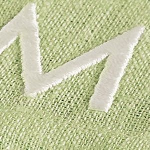 Add a personalized touch to any room with elegant monogramming.