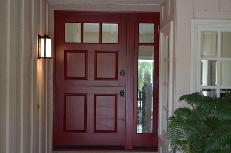 Custom Wood Door 42 With Full Glass Side Light Www