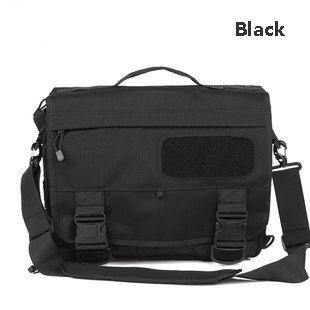 Outdoor Tactical briefcase Messenger bag Single shoulder bag Computer bag Handbag