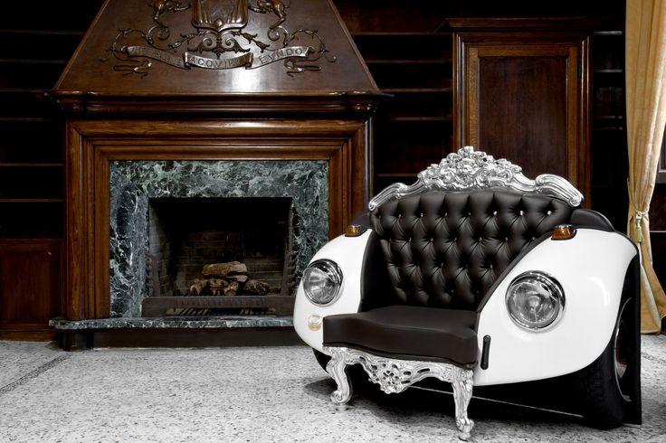 das lieblingsauto als m belst ck das italienische. Black Bedroom Furniture Sets. Home Design Ideas