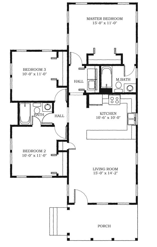 1000 ideas about creole cottage on pinterest shotgun Creole cottage house plans