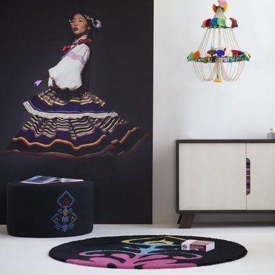 New Folk furniture collection by Meble Vox. Design - Anna Stępkowska.