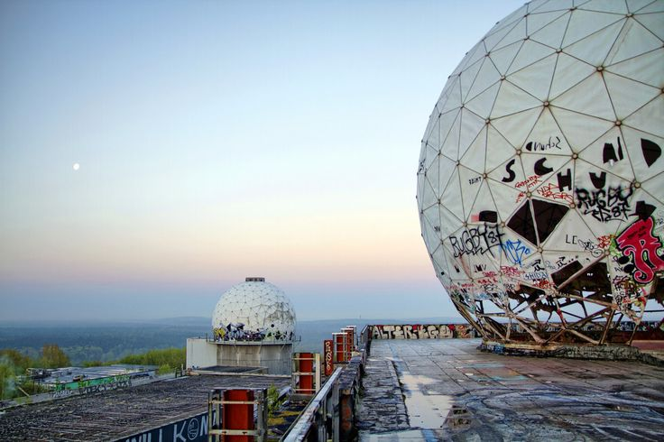 Teufelsberg | The 18 Most Hauntingly Beautiful Abandoned Places In Germany