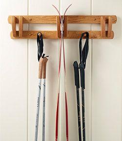 #LLBean: L.L.Bean Wooden Ski Rack