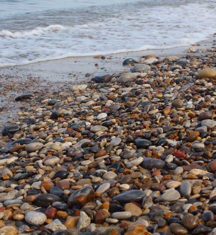 collecting sea glass at seaham beach |kriket broadhurst