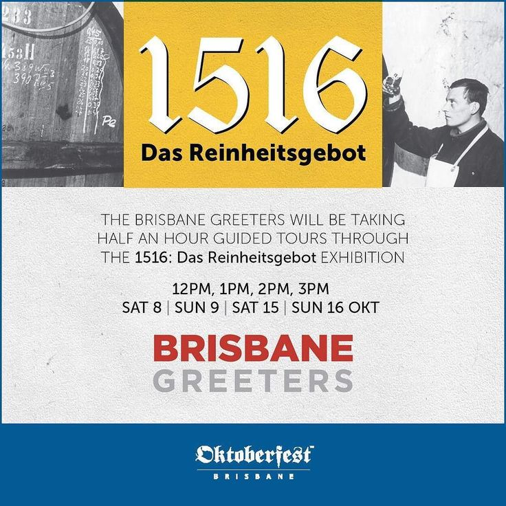 What's more scientific than the brewing of authentic German beer? It's German Science and Innovation Day of #BrisbaneGermanWeek and we're celebrating by installing our Bavarian Purity Law Exhibition 1516: Das Reinheitsgebot on site today and truly understanding the science behind the 500 year old law limiting the ingredients of German beer to #water #malt #hops and #yeast. Don't miss the exhibition at the festival and take a tour with a @brisbanegreeter