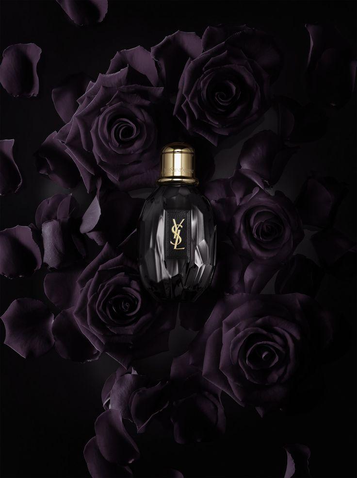 YSL 'Parisienne' | Yves Saint Laurent | Still Life Photographer for Tush magazine. #black #perfume