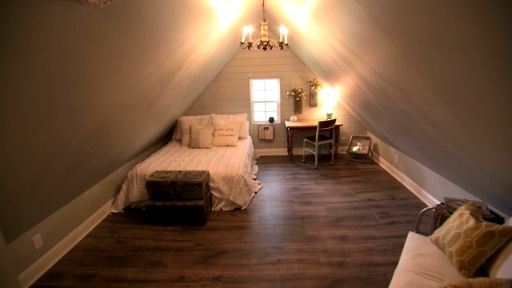Fixer Upper Extras: Charming Attic Bedroom