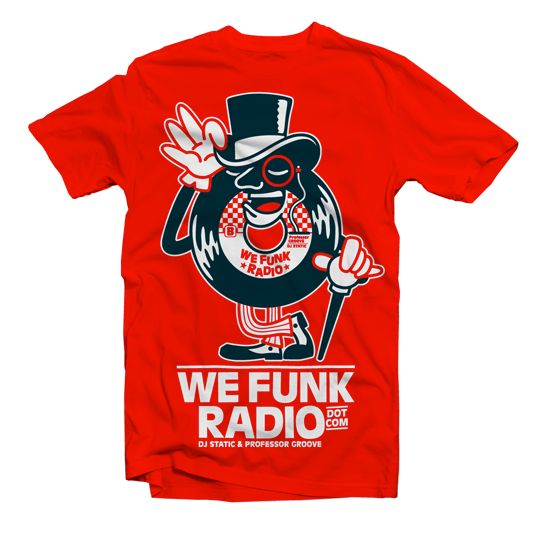 NEW TEE DESIGN FOR WE FUNK RADIO on Behance