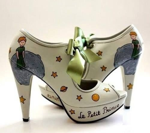 Le petit prince shoes book related accessories and Decoration le petit prince
