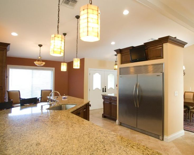 Side by side fridge freezer ls pinterest freezers for Separate kitchen units