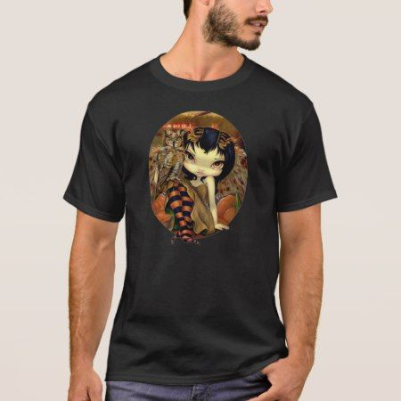 Owlyn in Autumn Shirt Owl Fairy Jasmine Becket - click/tap to personalize and buy