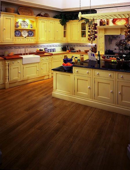 Kitchen Floor Tile | Kitchen designs courtesy of Amtico® Flooring Tile - All rights ...