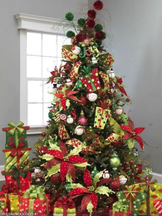 Beautiful Christmas Trees Decorating Pictures 23 Beautiful Christmas Trees Decorating Ideas Pictures