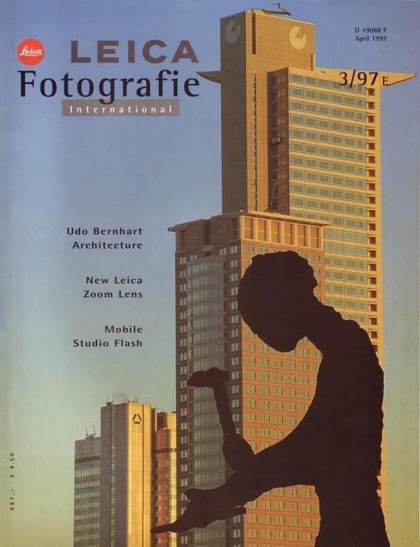 Leica Fotografie 3 1997 R8 Flash 35-70mm Vario-Elmar-R Lens Light