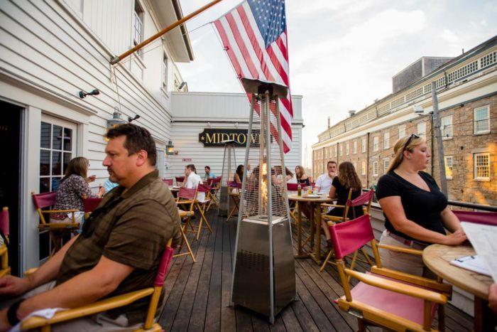 6. Midtown Oyster Bar, Newport