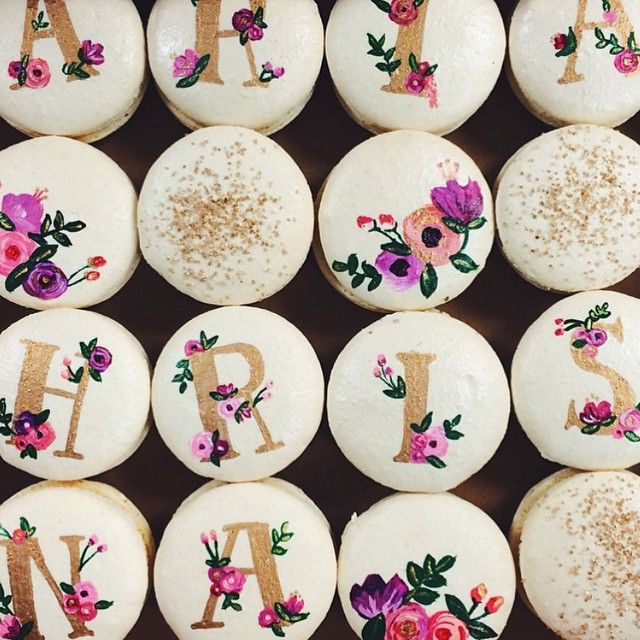 Sweet and Saucy Shop   Macarons inspired by @riflepaperco