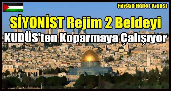 İşgal rejimi televizyonu, Doğu Kudüs'ün işgalinin 50'nci yılında açıklanan planın işgal rejimi başbakanı Benyamin Netanyahu tarafından desteklendiğini fakat Kudüs'teki işgal belediyesinin plana karşı çıktığını ifade etti.   #israil filistin kudüs #israil kudüs işgal #kudüs şufat kefer akab #siyonist rejim #siyonistler kudüs