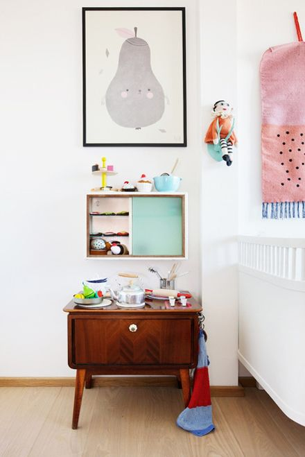A Danish children's room, via Apartment Therapy