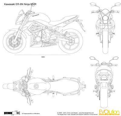 kawasaki er-6n ninja 650r | 載具設計 | pinterest | drawings