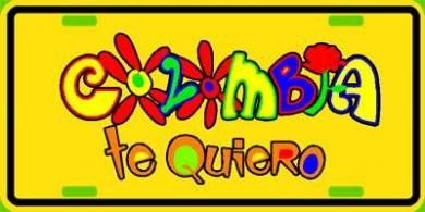 Colombia, te quiero!