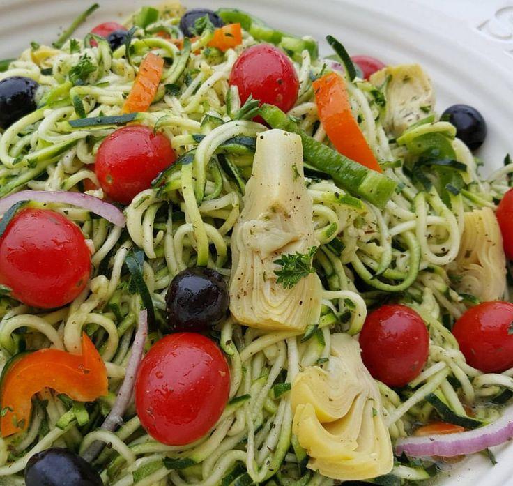 Pastaless Italian Salad Clean Food Crush http://cleanfoodcrush.com/pastaless-italian-salad/