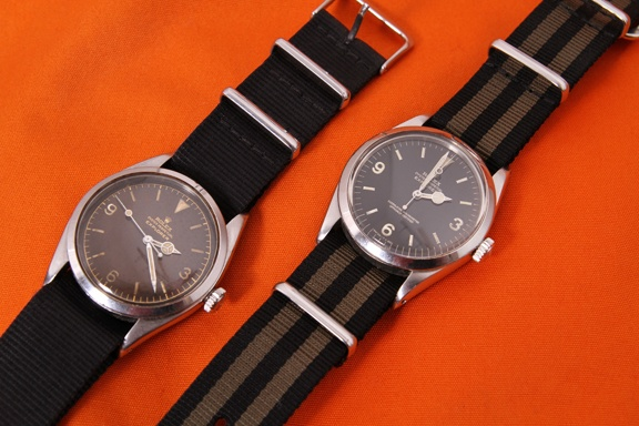Nato straps look great on the Rolex Explorer