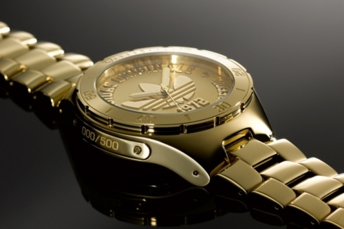 Adidas 40th anniversary watch-limited to only 500 pieces!! very bling - nice!!