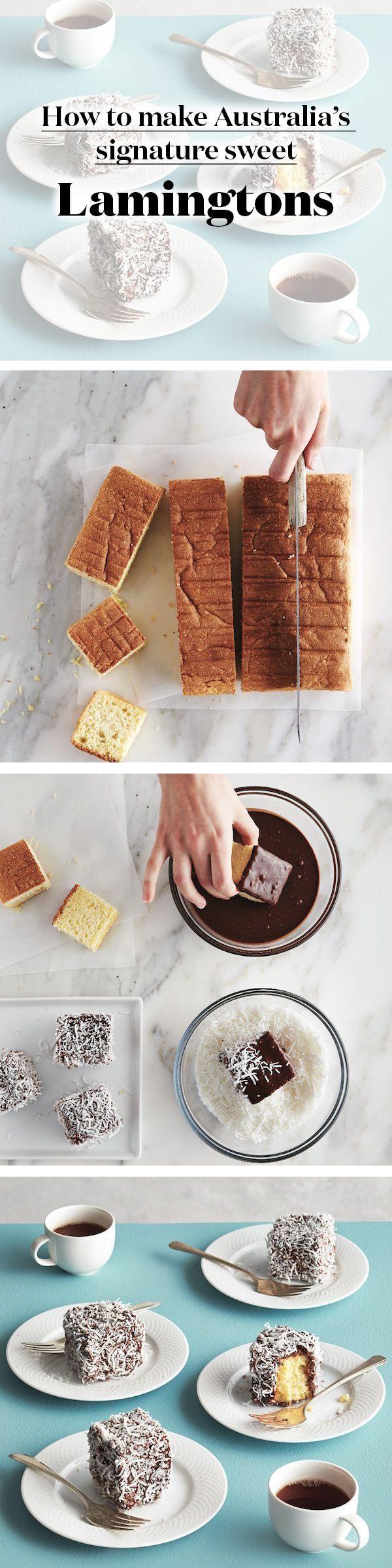 How To Make Australia's Signature Sweet Lamingtons