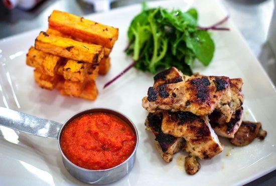 Piri Piri Chicken Recipe with Baked Sweet PotatoFries - Healthy, Tasty & Easy Recipes on a Budget - Gourmet Mum