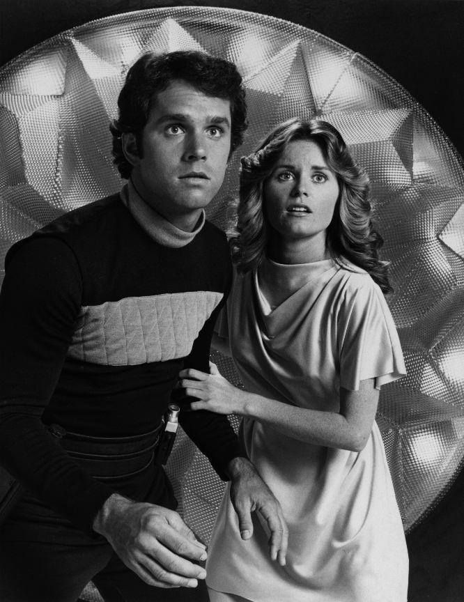 Gregory Harrison and Heather Menzies in The Logan's Run TV Series.