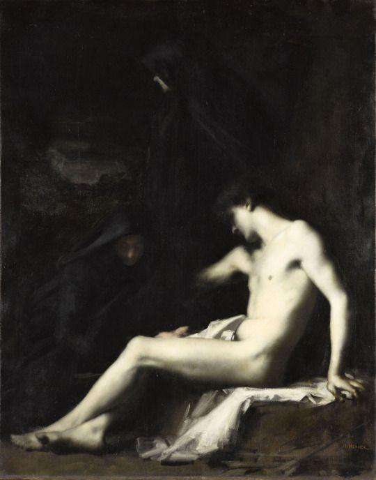 Saint Sébastien (1888), Jean-Jacques Henner