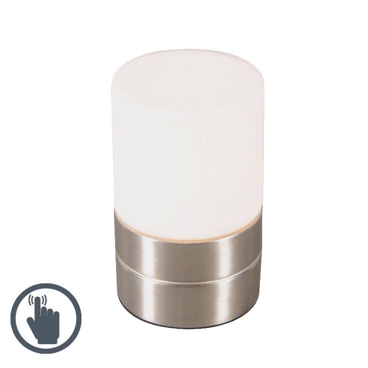 Tischleuchte Touch Me rund Stahl Jetzt bestellen unter: https://moebel.ladendirekt.de/lampen/tischleuchten/beistelltischlampen/?uid=7f03bb77-e74e-5695-ab76-463322ce913e&utm_source=pinterest&utm_medium=pin&utm_campaign=boards #lampen #tischleuchten #modern #beistelltischlampen Bild Quelle: www.lampenundleuchten.de